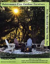 Picture of top patio furniture from Freedom Outdoor Furniture catalog