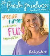 Picture of full figure clothing from Fresh Produce Sportswear catalog