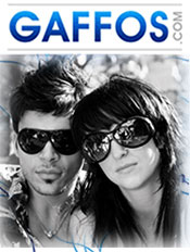 Picture of name brand sunglasses from Gaffos.com catalog