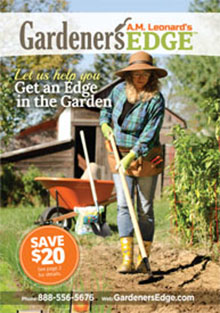 Picture of garden essentials from Gardener's Edge - A.M. Leonard catalog
