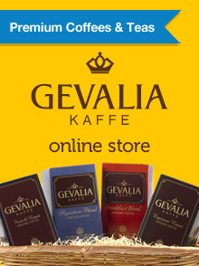 Picture of Gevalia coffee from Gevalia Coffee catalog