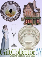 Picture of dinnerware fine china from GiftCollector.com catalog