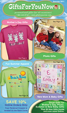 Picture of gifts for you now from GiftsForYouNow.com catalog