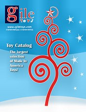Picture of american made toys from Gile Toys catalog