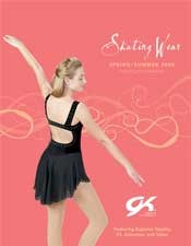 Picture of ice skating outfits from GK Elite Figure Skating catalog