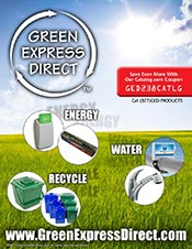 Picture of energy saving systems from Green Express Direct Wholesale catalog