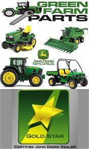Picture of John Deere Parts catalog from Green Farm Parts catalog