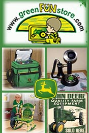 Picture of John Deere toys for kids from Green Fun Store catalog