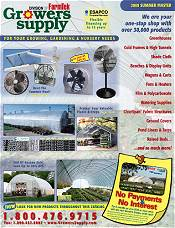 Picture of greenhouses for sale from Growers Supply catalog