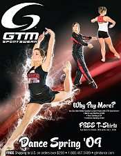 Picture of dancewear catalogs from Dance by GTM Sportswear catalog