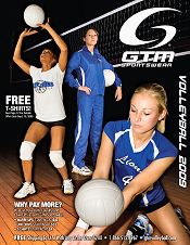 Picture of volleyball t shirts from Volleyball by GTM Sportswear catalog