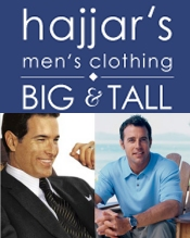 Picture of clothes for big men from Hajjar's Big & Tall catalog