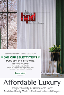 Half Price Drapes - Exclusive Fabrics & Furn