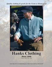 Picture of mens jeans from Hanks Clothing catalog
