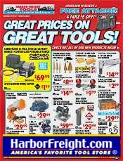 Picture of power tool supply from Harbor Freight Tools catalog