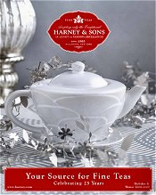 Picture of fine teas from Harney & Sons Fine Teas catalog