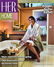Picture of building your own home from Her Home Magazine catalog