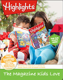 Picture of highlights for children from Highlights for Children catalog