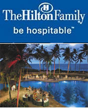 Picture of last minute hotel deal from Hilton Hotels catalog