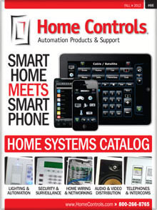 Picture of home controls from Home Controls catalog