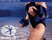 Picture of aquatic fitness from Hydro-Fit Aquatic Fitness Gear catalog