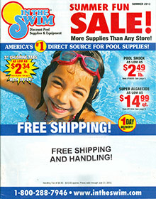 Picture of swimming pool accessories from In The Swim catalog