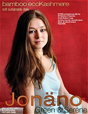 Picture of natural fiber clothing from jonano - eco chic collections catalog