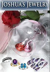 Picture of unique diamond jewelry from Joshua's Jewelry catalog