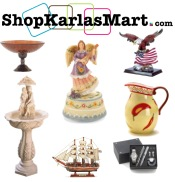 Picture of home and garden gifts from ShopKarlasMart.com catalog