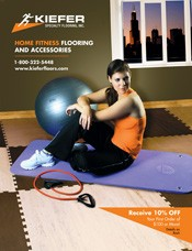 Picture of home fitness products from Kiefer Fitness catalog