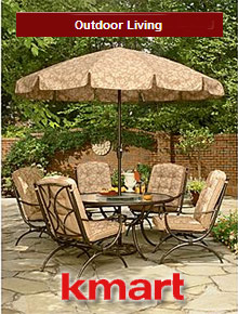 Picture of outdoor living products from K-mart Outdoor Living catalog