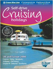 Picture of european river boat cruises from Le Boat catalog