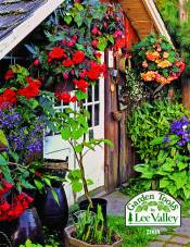Picture of tools to work in the garden from Garden Tools By Lee Valley Tools catalog