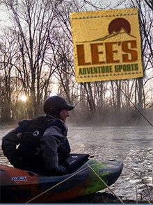 Picture of lees adventure sports catalog from Lee's Adventure Sports catalog