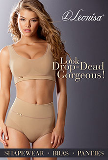 Picture of panties and bras from Leonisa catalog