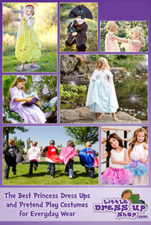Picture of dress up for girls from Little Dress Up Shop catalog