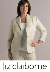 Picture of plus size clothes from Liz Claiborne Woman catalog