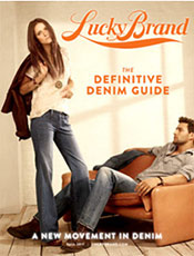 Picture of best jeans for men from Lucky Brand catalog
