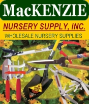 Picture of greenhouse supplies from MacKenzie Nursery Supply catalog