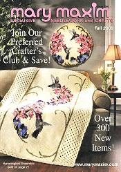 Picture of crochet from Mary Maxim - OLD2 catalog