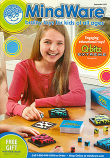 Picture of brain teaser toys from MindWare catalog