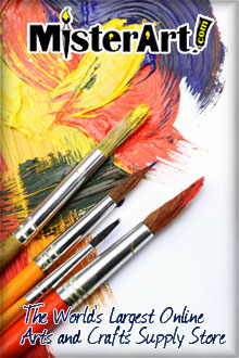 Picture of art supply store from MisterArt.com catalog