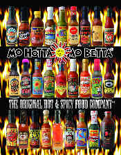 Picture of hotsauce from Mo Hotta Mo Betta catalog
