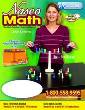 Picture of hands on math activities from Math from Nasco catalog