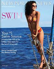 Picture of revealing bikini from Newport News Swim catalog