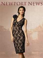 Picture of ladies evening wear from Newport News Dress Boutique catalog