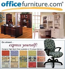 Picture of home office furniture from OfficeFurniture.com catalog