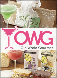 Picture of best drink mixes from Old World Gourmet catalog
