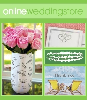 Picture of wedding candles from Online Wedding Store catalog