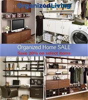 Picture of home interior shelves from Organized Living - Home Improvement catalog